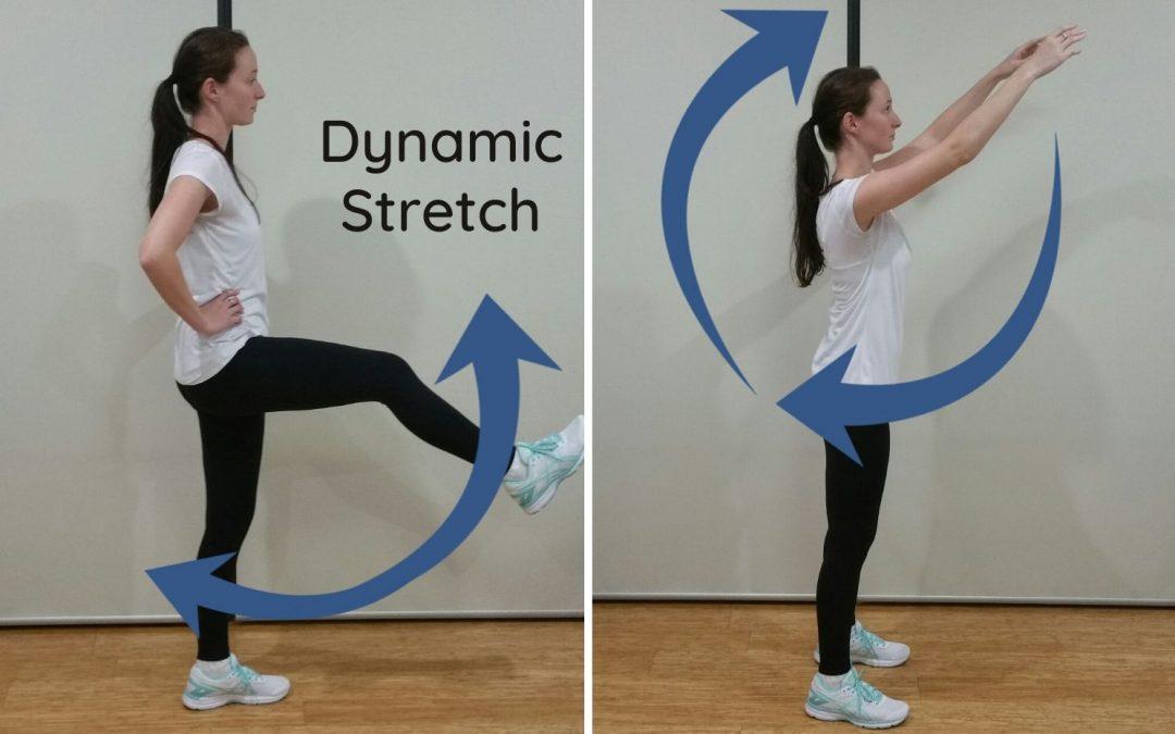 Sarah says Stretch!