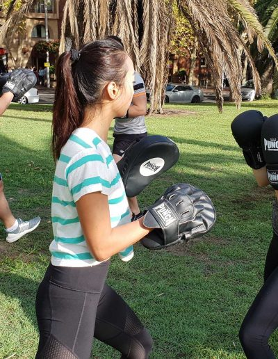 People Boxing