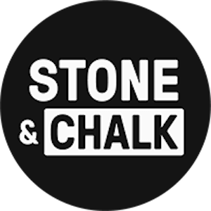 Stone and chalk logo